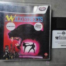 Videojuegos y Consolas: JJ JUEGO ORIGINAL DISKETE AMIGA WILD STREETS. Lote 47919472
