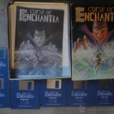 Videojuegos y Consolas: JUEGO DISKETE ORIGINAL AMIGA Y COMPATIBLES CURSE OF ENCHANTIA 1992. Lote 53739039