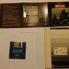Videojuegos y Consolas: AMIGA - APLICACIÓN DELUXE MUSIC + MANUAL. Lote 54356597