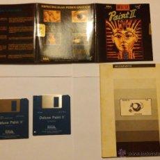 Videojuegos y Consolas: AMIGA - APLICACIÓN DELUXE PAINT II + MANUAL. Lote 54357291