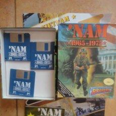 Videojuegos y Consolas: JUEGO DISKETE ORIGINAL AMIGA VIETNAM 1965 1075 NAM 1991. Lote 56204556