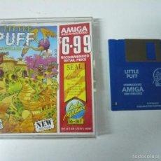 Videojuegos y Consolas: LITTLE PUFF - COMMODORE AMIGA - DISKETTE - DISQUETE - RETRO VINTAGE. Lote 56463429