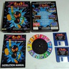 Videojuegos y Consolas: AMIGA - JUEGO ZOOL. Lote 57026439