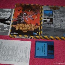 Videojuegos y Consolas: COMMODORE AMIGA WINGS OF FURY 1990 BY DRO SOFT VERSION ESPAÑOLA. Lote 57237558