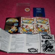 Videogiochi e Consoli: COMMODORE AMIGA RAINBOW ISLAND COMPLETO VERSIÓN ESPAÑOLA. Lote 57238162