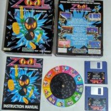Videojuegos y Consolas: AMIGA - JUEGO ZOOL. Lote 57279106