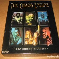Videojuegos y Consolas: THE CHAOS ENGINE COMMODORE AMIGA BITMAP BROTHERS RENEGADE EDICION ORIGINAL INGLESA. Lote 62748856