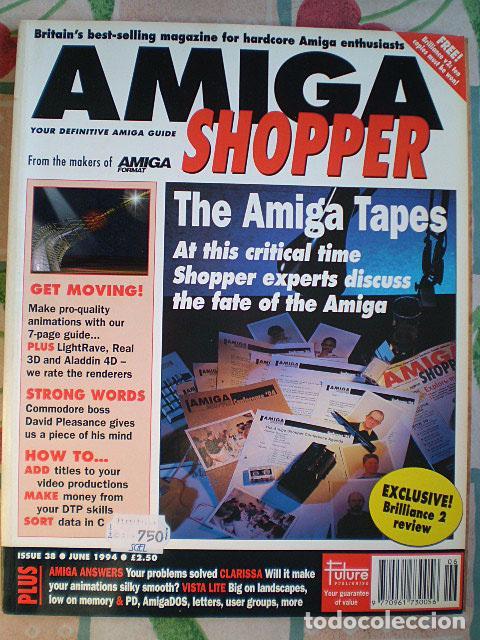 Videojuegos y Consolas: Lote Commodore Amiga: manuales de juegos (Elvira, Kick Off...) y revistas (Amiga Shopper, Telesoft) - Foto 4 - 69071505