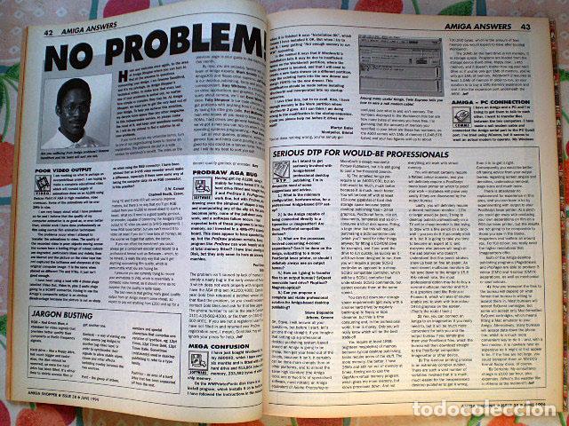 Videojuegos y Consolas: Lote Commodore Amiga: manuales de juegos (Elvira, Kick Off...) y revistas (Amiga Shopper, Telesoft) - Foto 5 - 69071505