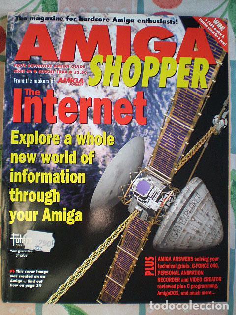 Videojuegos y Consolas: Lote Commodore Amiga: manuales de juegos (Elvira, Kick Off...) y revistas (Amiga Shopper, Telesoft) - Foto 6 - 69071505