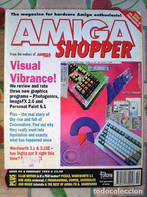 Videojuegos y Consolas: Lote Commodore Amiga: manuales de juegos (Elvira, Kick Off...) y revistas (Amiga Shopper, Telesoft) - Foto 8 - 69071505