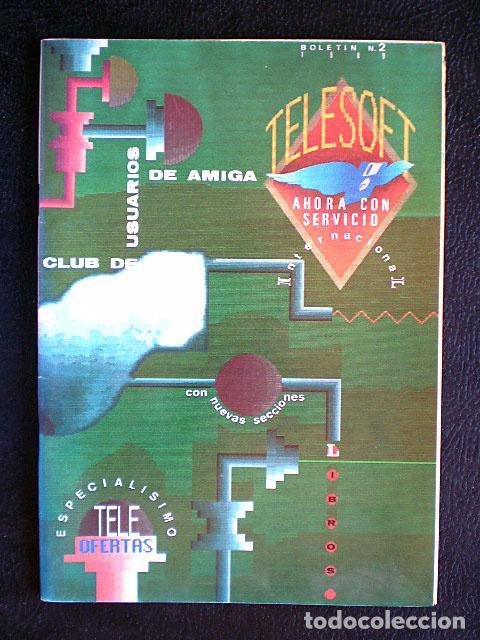Videojuegos y Consolas: Lote Commodore Amiga: manuales de juegos (Elvira, Kick Off...) y revistas (Amiga Shopper, Telesoft) - Foto 10 - 69071505
