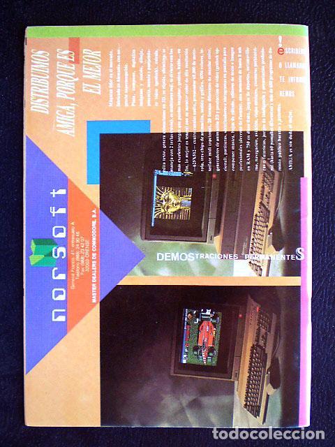 Videojuegos y Consolas: Lote Commodore Amiga: manuales de juegos (Elvira, Kick Off...) y revistas (Amiga Shopper, Telesoft) - Foto 11 - 69071505