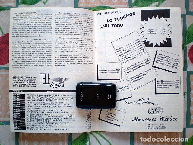 Videojuegos y Consolas: Lote Commodore Amiga: manuales de juegos (Elvira, Kick Off...) y revistas (Amiga Shopper, Telesoft) - Foto 12 - 69071505