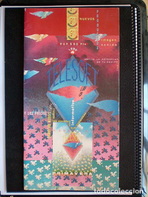 Videojuegos y Consolas: Lote Commodore Amiga: manuales de juegos (Elvira, Kick Off...) y revistas (Amiga Shopper, Telesoft) - Foto 13 - 69071505