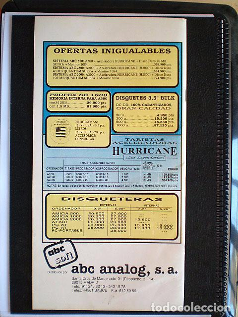 Videojuegos y Consolas: Lote Commodore Amiga: manuales de juegos (Elvira, Kick Off...) y revistas (Amiga Shopper, Telesoft) - Foto 14 - 69071505