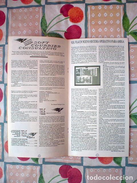 Videojuegos y Consolas: Lote Commodore Amiga: manuales de juegos (Elvira, Kick Off...) y revistas (Amiga Shopper, Telesoft) - Foto 16 - 69071505