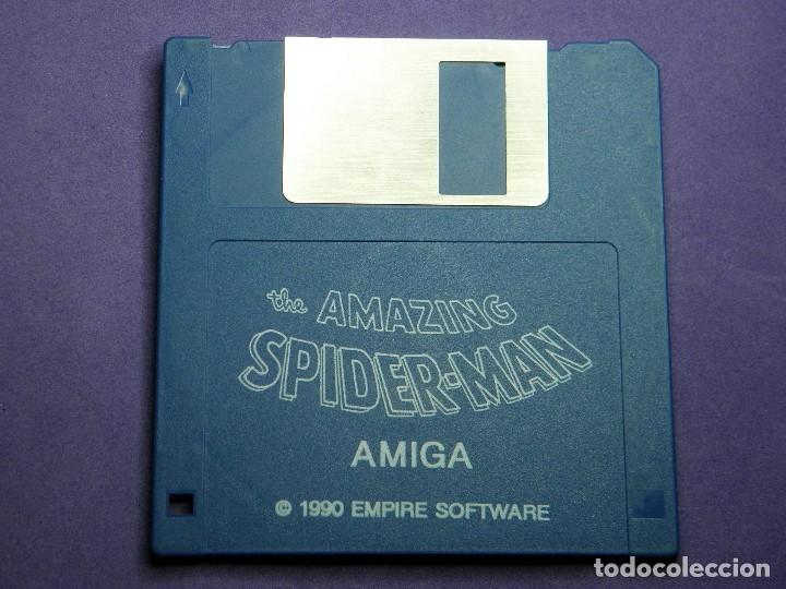 JUEGO SPIDER-MAN AMIGA COMMODORE (Juguetes - Videojuegos y Consolas - Amiga)