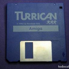 Videojogos e Consolas: JUEGO TURRICAN AMIGA COMMODORE. Lote 73417695