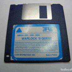 Videojuegos y Consolas: JUEGO WARLOK'S QUEST AMIGA COMMODORE. Lote 73418103