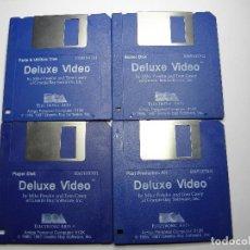 Videojuegos y Consolas: DELUXE VIDEO AMIGA COMMODORE. Lote 73419403