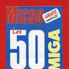 Videojuegos y Consolas: LOS 50 MEJORES CARGADORES AMIGA - COMMODORE AMIGA - VIDEOJUEGOS. Lote 80675378