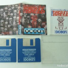 Videojuegos y Consolas: NIGHT BREED / COMMODORE AMIGA / DISKETTE / DISQUETE / RETRO . Lote 82194104