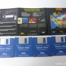 Videojuegos y Consolas: DELUXE VIDEO / COMMODORE AMIGA / DISKETTE / DISQUETE / RETRO . Lote 82194168