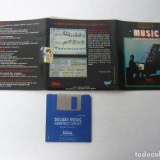 Videojuegos y Consolas: DELUXE MUSIC / COMMODORE AMIGA / DISKETTE / DISQUETE / RETRO . Lote 82194188
