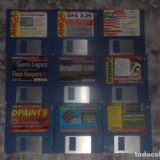 Videojuegos y Consolas: COMMODORE AMIGA LOTE 9 DISCOS REVISTAS. Lote 83871472