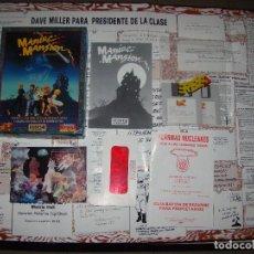 Videojuegos y Consolas: MANIAC MANSIÓN - ERBE - COMPLETO¡¡. Lote 84383560