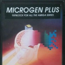 Videojuegos y Consolas: MICROGEN PLUS GENLOCK FOR ALL THE AMIGA SERIES. Lote 90194572