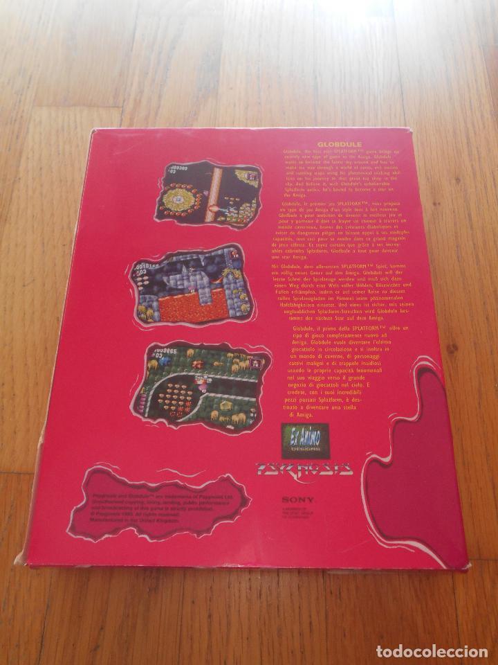 Videojuegos y Consolas: JUEGO GLOBDULE, CAJA CARTON. AMIGA 1MB - Foto 2 - 91231205