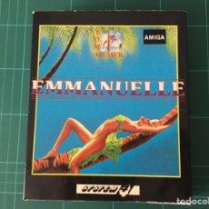 Videojuegos y Consolas: EMMANUELLE PARA COMMODORE AMIGA. Lote 93912038