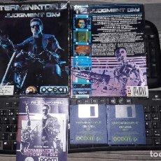 Videojuegos y Consolas: TERMINATOR 2 II AMIGA COMPLETO COMMODORE. Lote 95383647