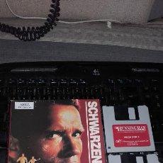 Videojuegos y Consolas: RUNNING MAN AMIGA COMMODORE PERSEGUIDO SCHWARZENEGGER. Lote 95383691