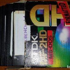 Videojuegos y Consolas: 10 DISKETES OPERATIVOS PARA FORMATEAR. Lote 95416183