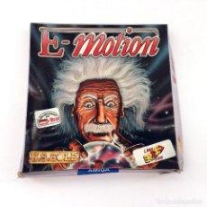 Videojuegos y Consolas: E-MOTION / JUEGO NUEVO ERBE 16 BITS U.S GOLD 1990 MICRO HOBBY MANIA EINSTEIN DISKETTE 3 ½ DISK AMIGA. Lote 96326147