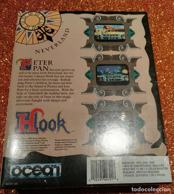 Videojuegos y Consolas: VIDEOJUEGO HOOK (AMIGA) PRECINTADO! PRIMERA EDICIÓN AÑOS 90 - Foto 2 - 96562083