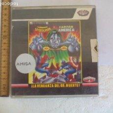 Videojuegos y Consolas: EL ASOMBROSO SPIDER-MAN Y CAPITAN AMERICA EN LA VENGANZA DEL DR. MUERTE. AMIGA. CON INSTRUCCIONES. Lote 99470707