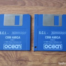 Videogiochi e Consoli: JUEGO COMMODORE AMIGA CHASE H.Q. 2 DISCOS. Lote 99566119