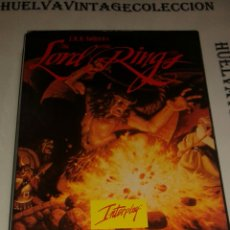 Videojuegos y Consolas: PC MS DOS; THE LORD OF THE RINGS VOL.1 .J.R.R.TOLKIENS, INTERPLAY. 1990-91. Lote 102942447