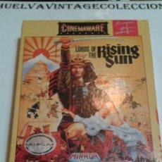 Videojuegos y Consolas: LORDS OF THE RISING SUN, VINTAGE COMPUTER GAME BY CINEMAWARE, 1998. AMIGA.. Lote 102981200