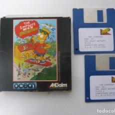 Videojuegos y Consolas: LOS SIMPSONS - COMMODORE AMIGA - JUEGO EN DISCO RETRO - DISQUETE. Lote 103242091
