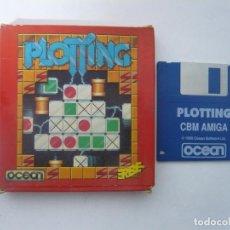 Videojuegos y Consolas: PLOTTING - COMMODORE AMIGA - JUEGO EN DISCO RETRO - DISQUETE. Lote 103242107