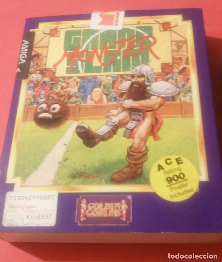 Videojuegos y Consolas: videojuego grand slam monster amiga coleccionistas - Foto 2 - 105390747