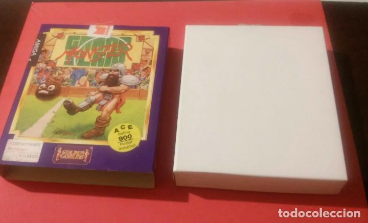 Videojuegos y Consolas: videojuego grand slam monster amiga coleccionistas - Foto 3 - 105390747