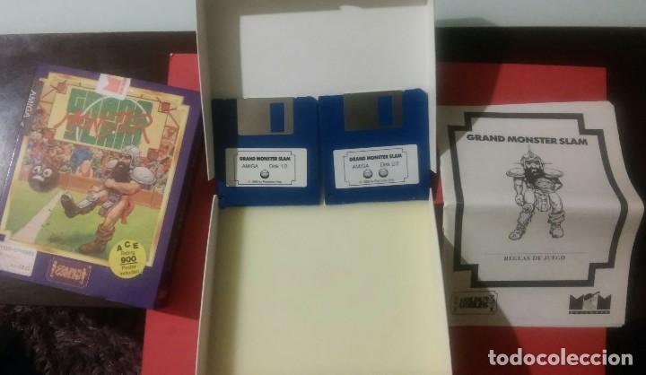Videojuegos y Consolas: videojuego grand slam monster amiga coleccionistas - Foto 4 - 105390747