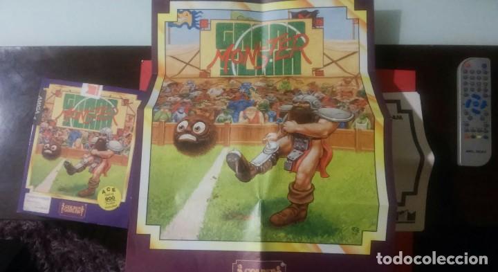 Videojuegos y Consolas: videojuego grand slam monster amiga coleccionistas - Foto 5 - 105390747