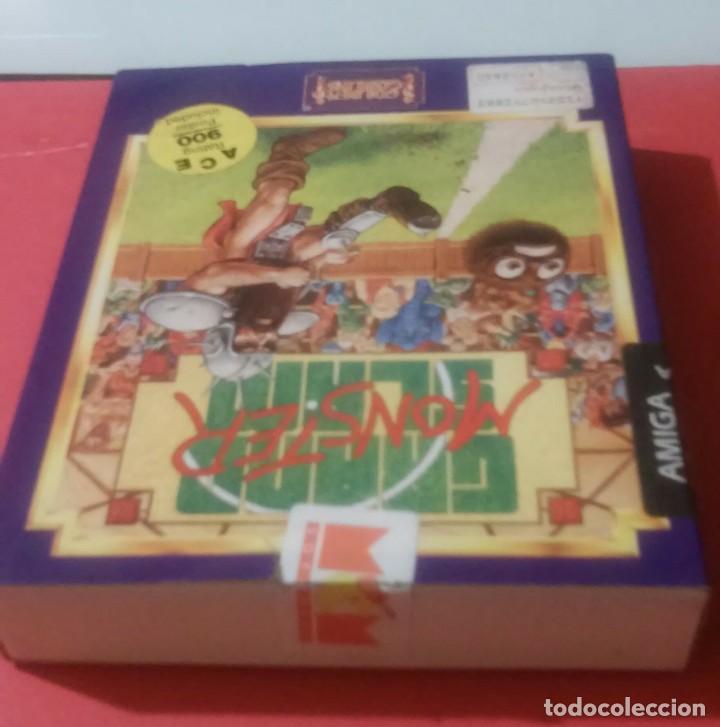Videojuegos y Consolas: videojuego grand slam monster amiga coleccionistas - Foto 6 - 105390747